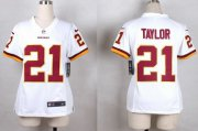 Wholesale Cheap Nike Redskins #21 Sean Taylor White Youth Stitched NFL Elite Jersey