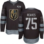 Wholesale Cheap Adidas Golden Knights #75 Ryan Reaves Black 1917-2017 100th Anniversary Stitched NHL Jersey