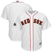 Wholesale Cheap Boston Red Sox Majestic 2019 Gold Program Cool Base Team Jersey White