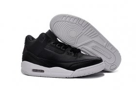 Wholesale Cheap Air Jordan 3 Cyber Monday Black/White