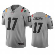 Wholesale Cheap Indianapolis Colts #17 Devin Funchess Gray Vapor Limited City Edition NFL Jersey