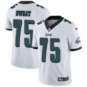 Wholesale Cheap Nike Eagles #75 Josh Sweat White Men's Stitched NFL Vapor Untouchable Limited Jersey