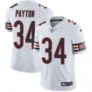 Wholesale Cheap Nike Bears #34 Walter Payton White Youth Stitched NFL Vapor Untouchable Limited Jersey