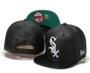 Wholesale Cheap Chicago White Sox Snapback Ajustable Cap Hat GS 9