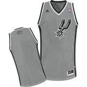 Wholesale Cheap San Antonio Spurs Blank Gray Swingman Jersey