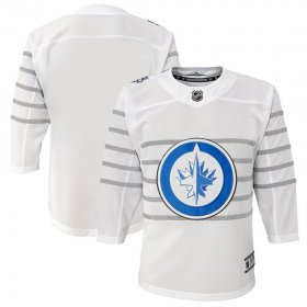 Wholesale Cheap Youth Winnipeg Jets White 2020 NHL All-Star Game Premier Jersey