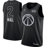 Wholesale Cheap Nike Wizards #2 John Wall Black NBA Jordan Swingman 2018 All-Star Game Jersey