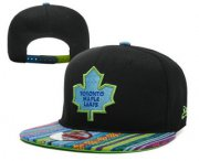Wholesale Cheap Toronto Maple Leafs Snapback Ajustable Cap Hat YD 6