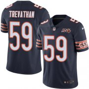 Wholesale Cheap Nike Bears #59 Danny Trevathan Navy Blue Team Color Men's 100th Season Stitched NFL Vapor Untouchable Limited Jersey