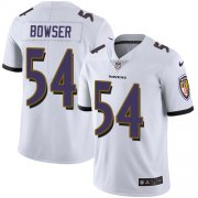Wholesale Cheap Nike Ravens #54 Tyus Bowser White Men's Stitched NFL Vapor Untouchable Limited Jersey