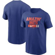 Wholesale Cheap New York Mets Nike Local Nickname T-Shirt Royal
