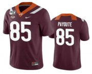 Wholesale Cheap Men's Virginia Tech Hokies #95 Jaden Payoute Maroon 150th College Football Nike Jersey