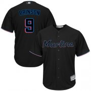 Wholesale Cheap Marlins #9 Lewis Brinson Black Cool Base Stitched Youth MLB Jersey