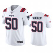 Wholesale Cheap New England Patriots #50 Chase Winovich Men's Nike White 2020 Vapor Limited Jersey