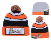Wholesale Cheap Miami Marlins Beanies YD004