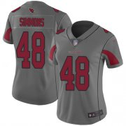Wholesale Cheap Nike Cardinals #48 Isaiah Simmons Silver Women's Stitched NFL Limited Inverted Legend Jersey
