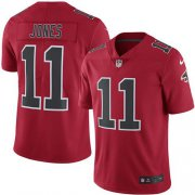 Wholesale Cheap Nike Falcons #11 Julio Jones Red Youth Stitched NFL Limited Rush Jersey