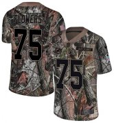 Wholesale Cheap Nike Dolphins #75 Ereck Flowers Camo Men's Stitched NFL Limited Rush Realtree Jersey