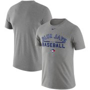 Wholesale Cheap Toronto Blue Jays Nike Practice T-Shirt Heathered Gray