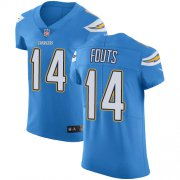 Wholesale Cheap Nike Chargers #14 Dan Fouts Electric Blue Alternate Men's Stitched NFL Vapor Untouchable Elite Jersey