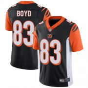 Wholesale Cheap Nike Bengals #83 Tyler Boyd Black Team Color Youth Stitched NFL Vapor Untouchable Limited Jersey
