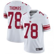 Wholesale Cheap Nike Giants #78 Andrew Thomas White Men's Stitched NFL Vapor Untouchable Limited Jersey