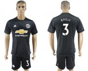 Wholesale Cheap Manchester United #3 Bailly Away Soccer Club Jersey