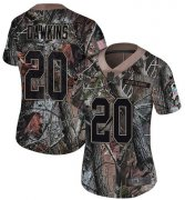 Wholesale Cheap Nike Eagles #20 Brian Dawkins Camo Women's Stitched NFL Limited Rush Realtree Jersey