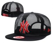 Wholesale Cheap New York Yankees Snapback Ajustable Cap Hat GS 6