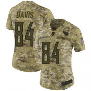 Wholesale Cheap Nike Titans #84 Corey Davis Camo Women's Stitched NFL Limited 2018 Salute to Service Jersey