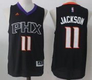 Wholesale Cheap Men's 2017 Draft Phoenix Suns #11 Josh Jackson Black Stitched NBA adidas Revolution 30 Swingman Jersey