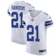 Wholesale Cheap Nike Cowboys #21 Deion Sanders White Men's Stitched NFL Vapor Untouchable Elite Jersey