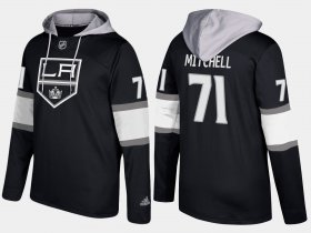 Wholesale Cheap Kings #71 Torrey Mitchell Black Name And Number Hoodie