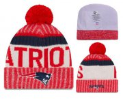 Wholesale Cheap NFL New England Patriots Logo Stitched Knit Beanies 018