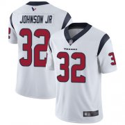 Wholesale Cheap Nike Texans #32 Lonnie Johnson Jr. White Youth Stitched NFL Vapor Untouchable Limited Jersey