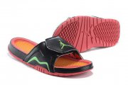 Wholesale Cheap Women's Jordan Hydro 7 Shoes Black/order-green