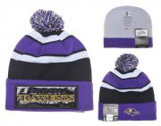 Wholesale Cheap Baltimore Ravens Beanies YD007