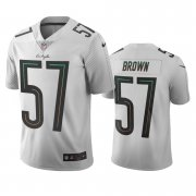 Wholesale Cheap Los Angeles Chargers #57 Jatavis Brown White Vapor Limited City Edition NFL Jersey