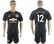 Wholesale Cheap Manchester United #12 Smalling Away Soccer Club Jersey