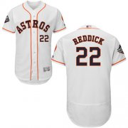 Wholesale Cheap Astros #22 Josh Reddick White Flexbase Authentic Collection 2019 World Series Bound Stitched MLB Jersey
