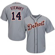 Wholesale Cheap Tigers #14 Christin Stewart Grey New Cool Base Stitched MLB Jersey