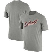 Wholesale Cheap Detroit Tigers Nike Batting Practice Logo Legend Performance T-Shirt Gray