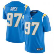 Wholesale Cheap Los Angeles Chargers #97 Joey Bosa Men's Nike Powder Blue 2020 Vapor Limited Jersey