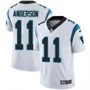 Wholesale Cheap Nike Panthers #11 Robby Anderson White Youth Stitched NFL Vapor Untouchable Limited Jersey