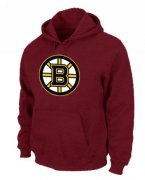 Wholesale Cheap NHL Boston Bruins Big & Tall Logo Pullover Hoodie Red