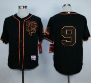 Wholesale Cheap Giants #9 Matt Williams Black Alternate Cool Base Stitched MLB Jersey