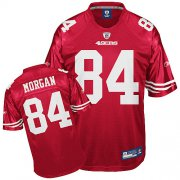 Wholesale Cheap 49ers #84 Josh Morgan Red Stitched NFL Jersey