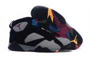 Wholesale Cheap Air Jordan 7 Bordeaux Shoes Bordeaux Black/gray-red-blue