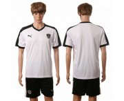 Wholesale Cheap Austria Blank White Away Soccer Country Jersey
