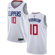 Wholesale Cheap Nike Clippers #10 Jerome Robinson White NBA Swingman Association Edition Jersey